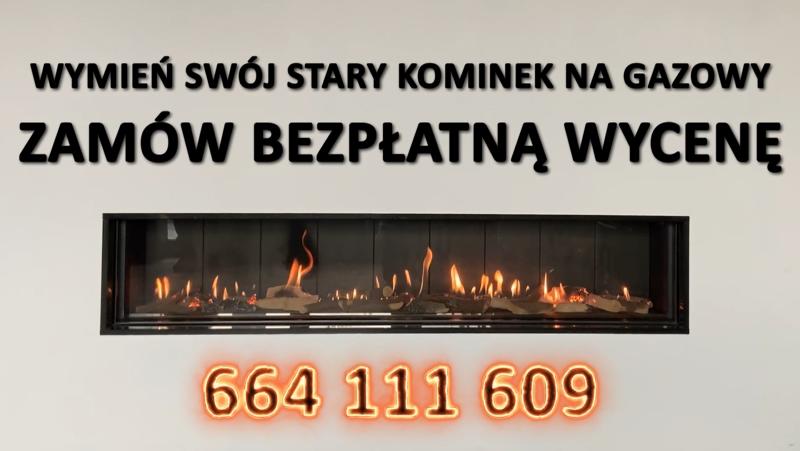 wymiana komików na gazowe Kraków