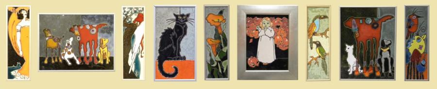 obrazki ceramiczne galeria Kraków