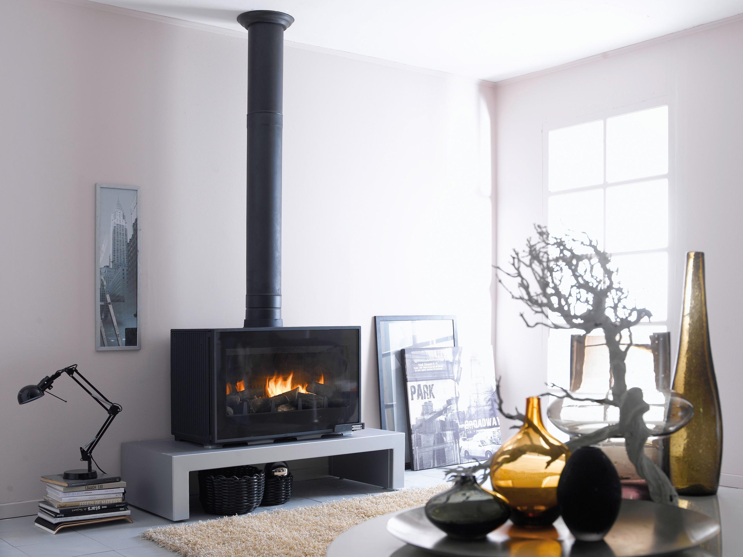 kominki godin krak w oferta piece ze szklanymi. Black Bedroom Furniture Sets. Home Design Ideas